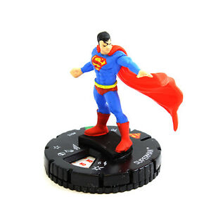 HEROCLIX #015 SUPERMAN 15th ANNIVERSARY ELSEWORLDS