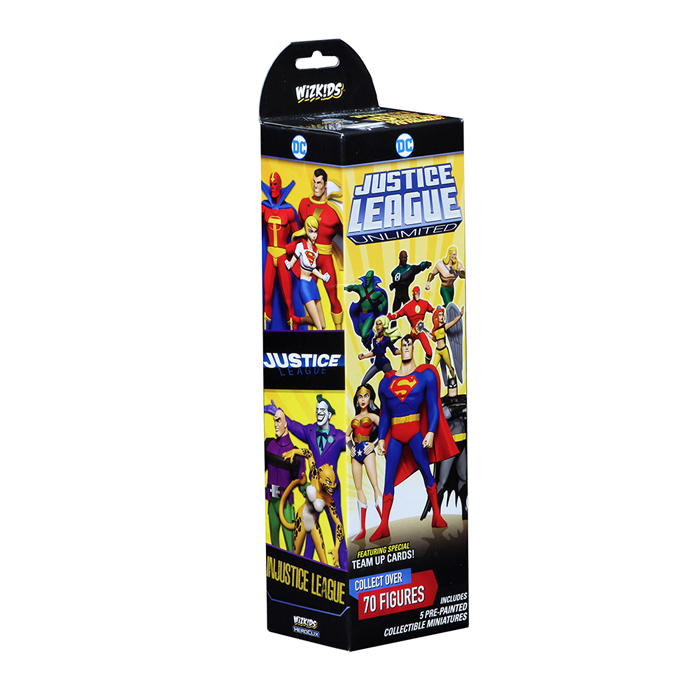 HEROCLIX DC COMICS JUSTICE LEAGUE UNLIMITED BOOSTER PACK