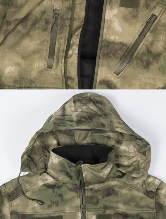 SOFTSHELOVÁ BUNDA FG CAMO SCU 3 LAYER